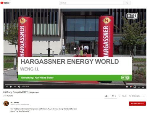 Eröffnung Hargassner Energyworld 2019